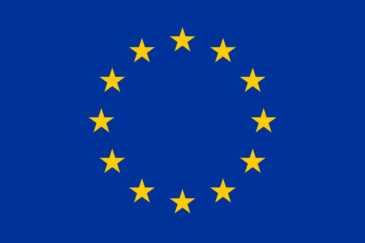 Слика од знамето на Европската Унија