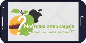 Апликација Правилна исхрана за Apple уреди